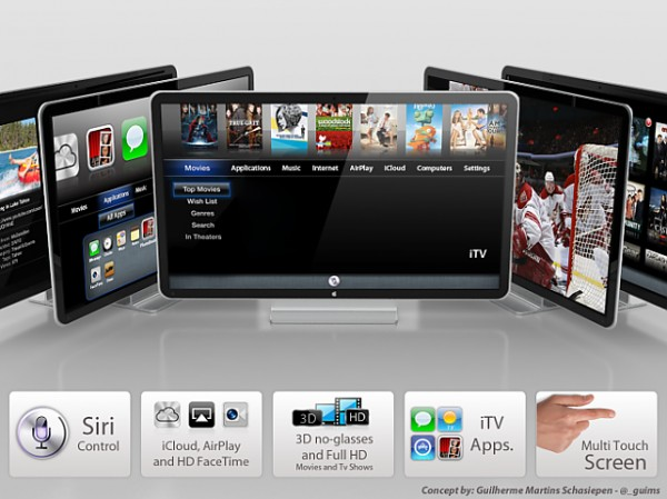 Apple TV концепт